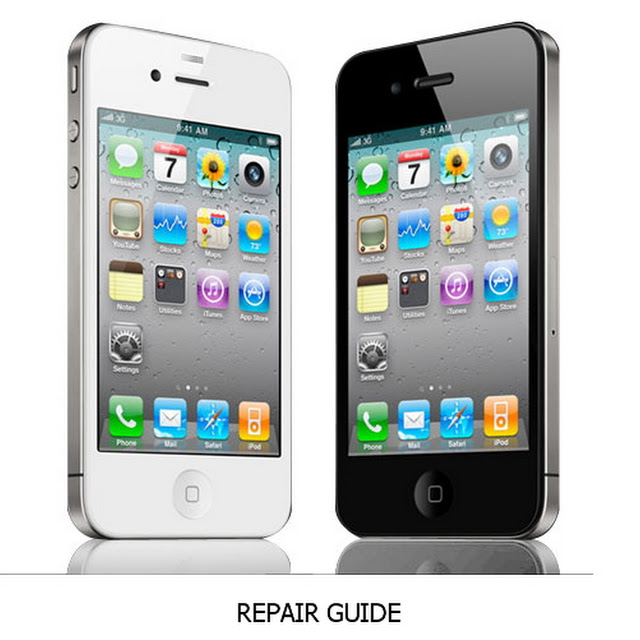 Cara Bongkar Apple iPhone 4