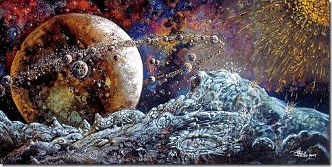 Планета с миллионом лун...