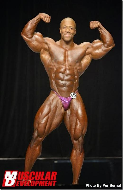 Shawn Rhoden Mr Olympia 2013