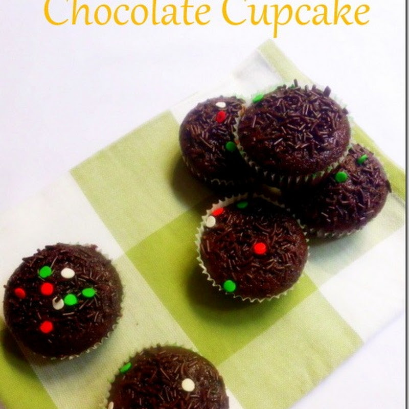 Eggless Butterless Chocolate Cupcakes