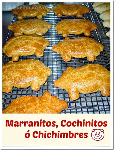 marranitos mexican pig shaped cookies