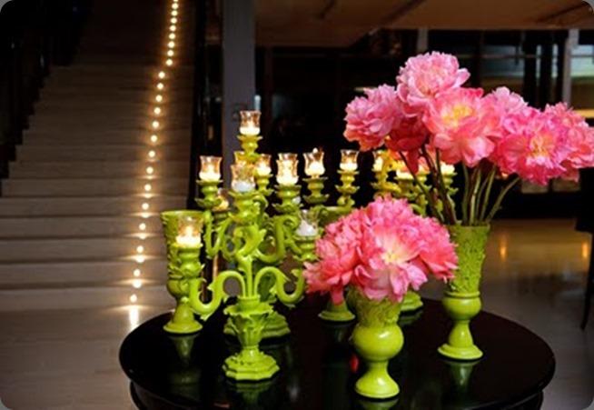 chartreuse candelabras tutu divine