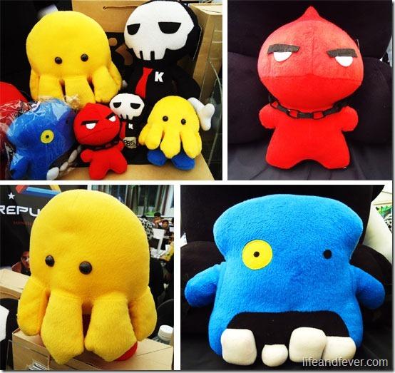Kaiba plush dolls