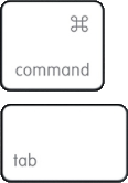 Command tab only