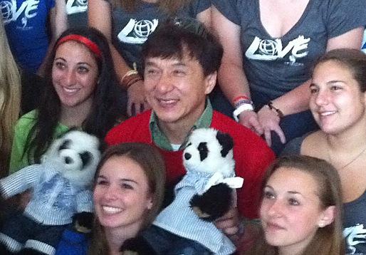 Jackie Chan.....