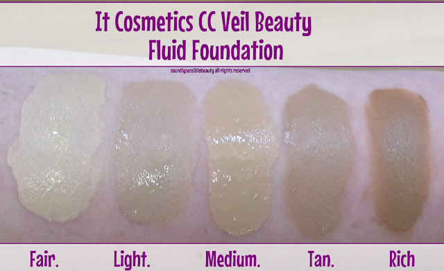 It Cosmetics CC Veil Beauty Fluid Foundation Cushion Compact;