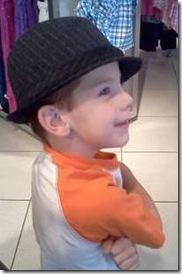 Camden likes the hat-1