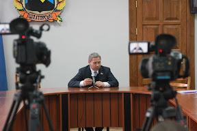 Рабочая поездка В.Лукьянова в Харцызск и Шахтерск 27 марта 2012