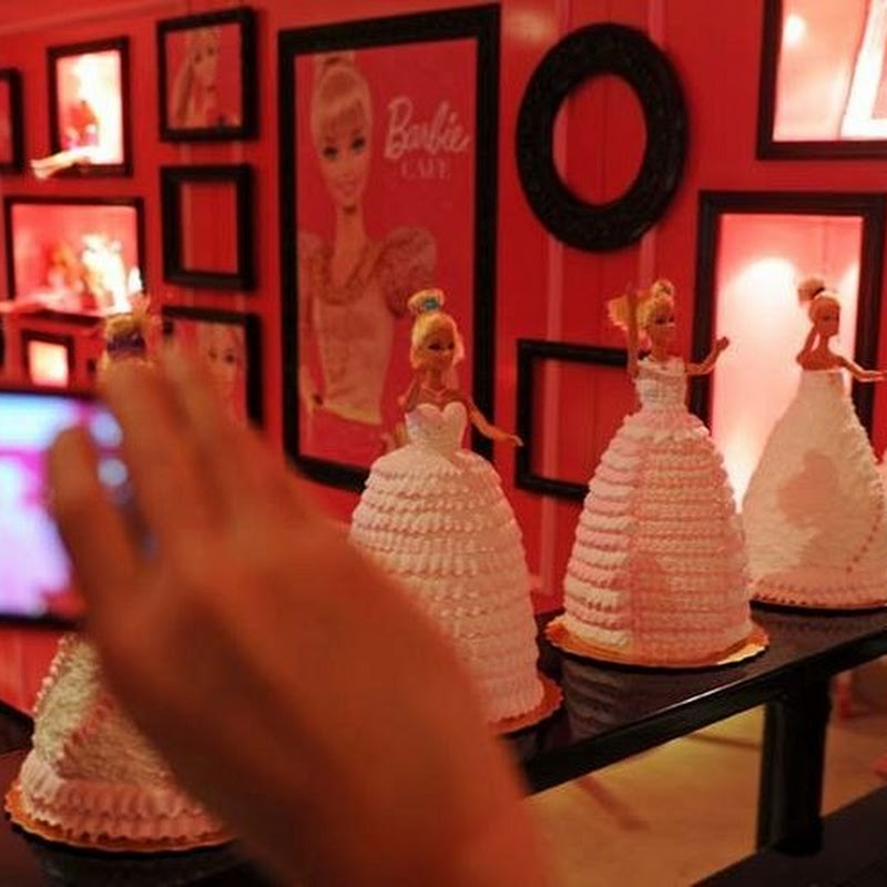 Barbie Themed Restaurant Opens in Taiwan