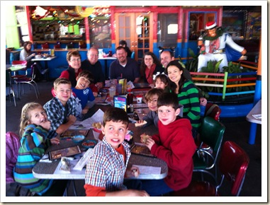 family at chuy's