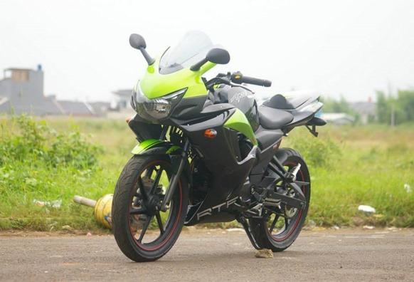 TVS apache 250 cc front