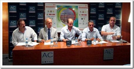 Presentado el Campeonato de España Selecciones Autonómicas de Pádel en Badajoz.