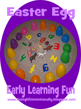 Easter Egg Spelling Games for Preschoolers