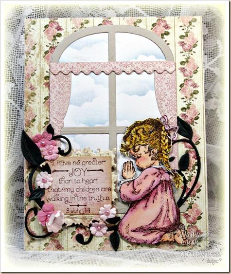 Precious Girl, ODBD Window Die, Our Daily Bread designs