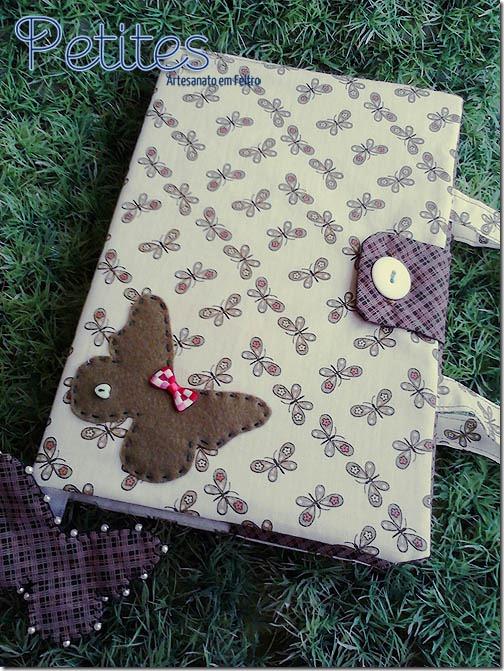 Capa para livros de borboleta 03