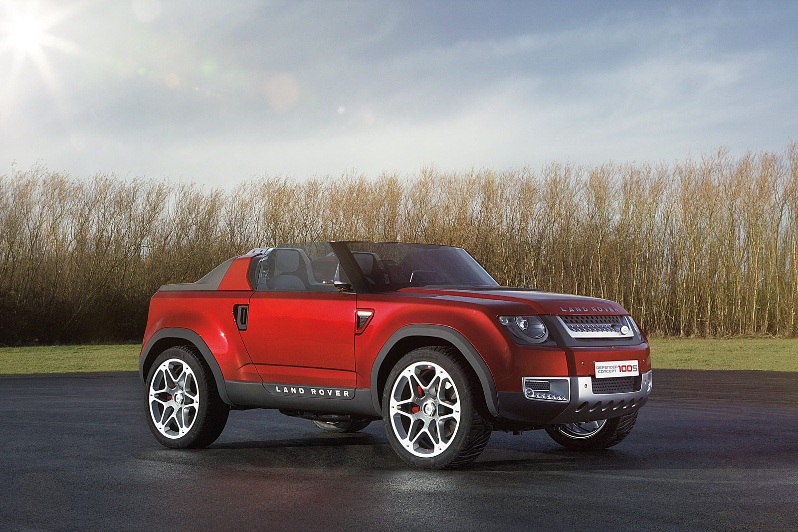 Land Rover DC100 Concepts Gain a Red Hue for New Delhi Auto Expo