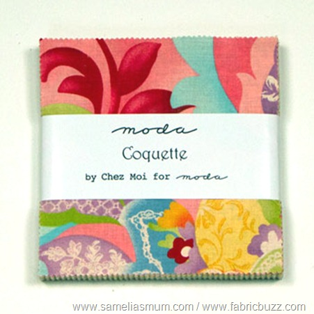 Coquette by Chez Moi - Charm Pack 16060PP