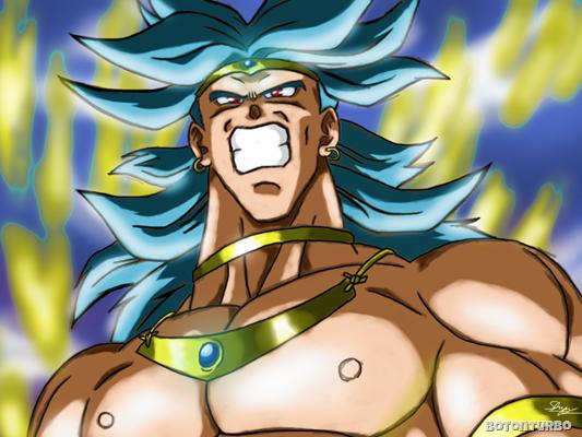 Broly Super Saiyajin azul