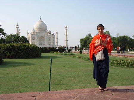 Obiective turistice India: Taj Mahal Agra