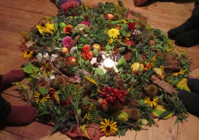 Mitte Herbst Tag-und-Nachtgleiche