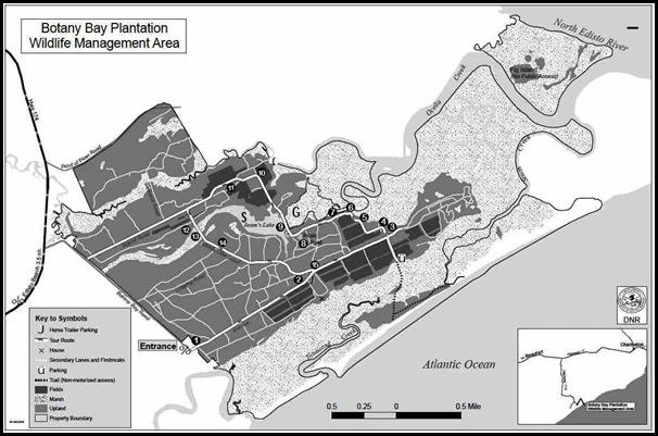 Botany Bay map