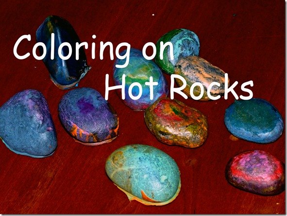 Coloring Hot Rocks 3 Title