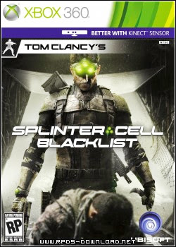 521b5e22dba2d Tom Clancy's Splinter Cell: Blacklist   XBOX 360