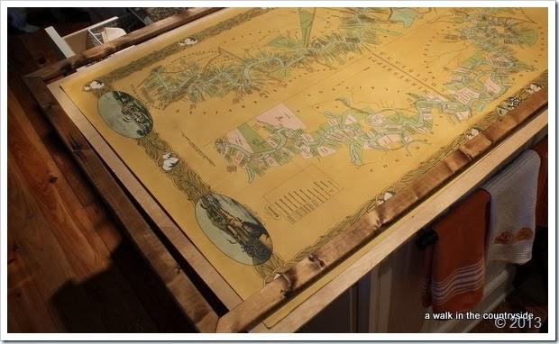 framing a map