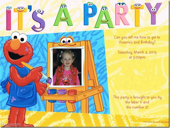 2nd Birthday Invite [Edited 1]