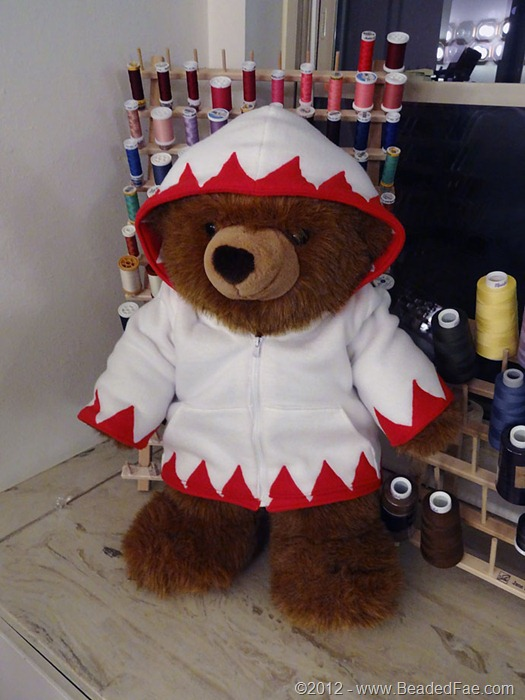 White Mage Teddy Bear