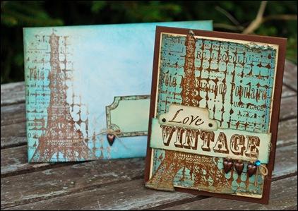 Love Vintage kuvert