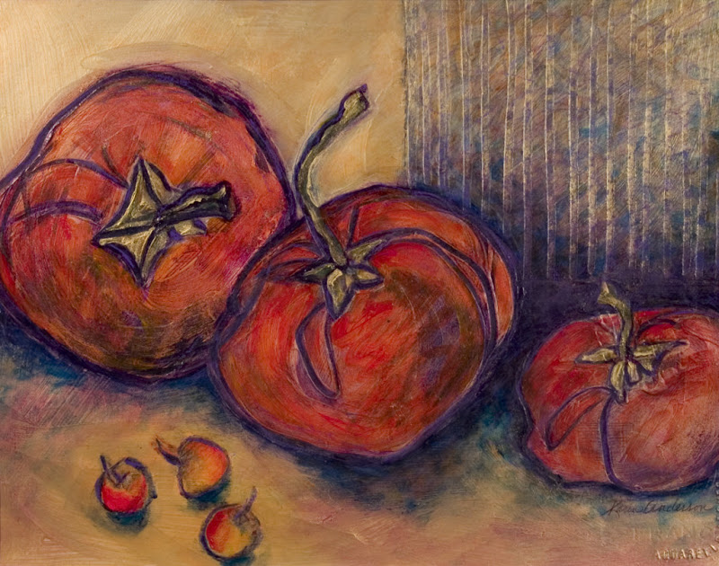 Three Persimmons
