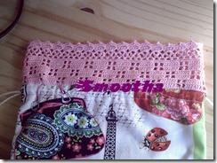 Saco com aplicação em crochet J'aime Paris (2)