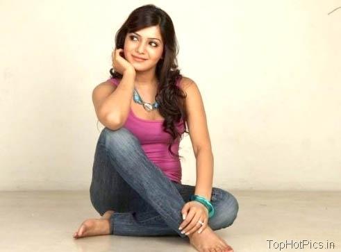 Samantha Prabhu Hot Pics in Jeans 2
