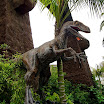 Velociraptor at Universal Studios Hollywood