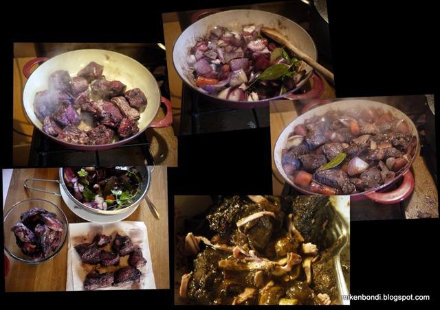clockwise - Beef Bourguinon