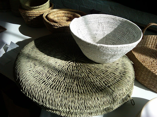 Here are more baskets from The Conran Shop, Darr, and Greenhouse.