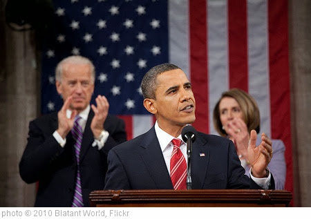 'Barack Obama, during the 2010 State Of The Union address' photo (c) 2010, Blatant World - license: http://creativecommons.org/licenses/by/2.0/