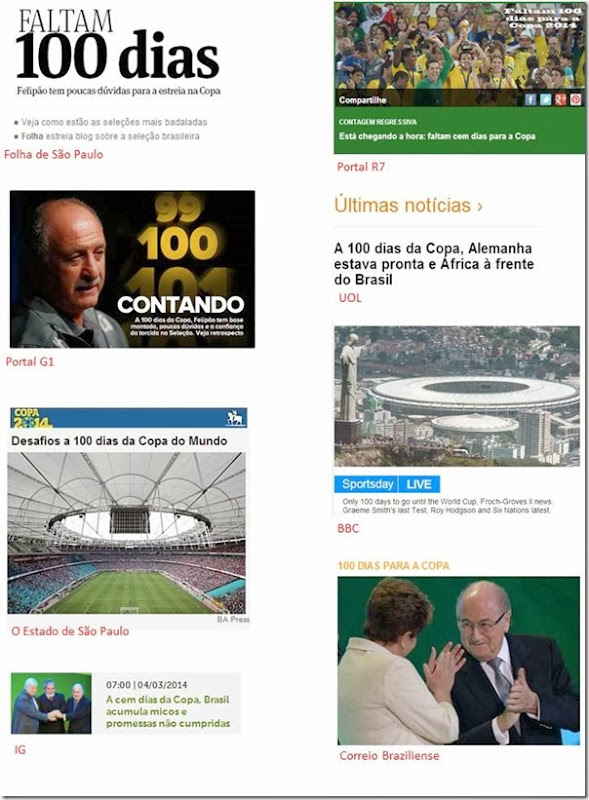 Copa 100 dias
