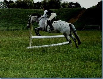 Danielle  over the jump