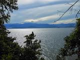 The Sidole mountain range seen from the other side of Palu Bay at Tanjung Karang, Donggala (Dan Quinn, June 2013)