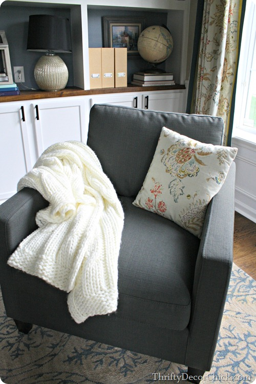 cable knit throw Ikea