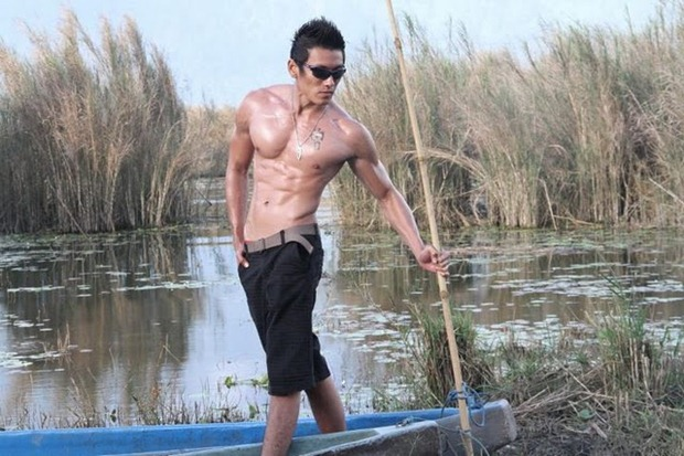 Asianmales-Little Shirtless Sexy with Unknown Male Model-22