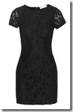 Kain Ribbed Cotton and Lace Dress