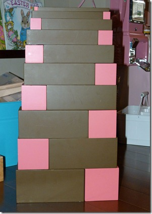Pink Tower - Brown Stairs Extension