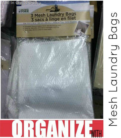 Dollar Store Mesh Laundry Bag