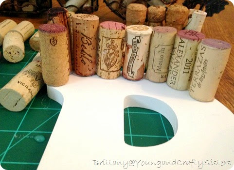 Wine Cork Monogram 2