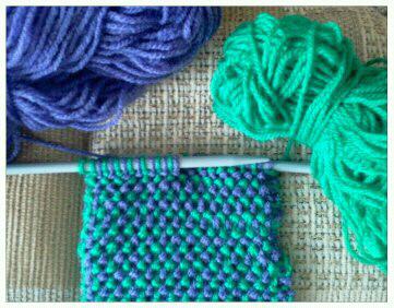 KNITIT: Free Fancy Knitting Stitch No. 19