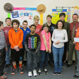 WBFJ Community Insurance's Hometown Contest Winner - Mrs. Cline's Class - Oak Grove Middle School -