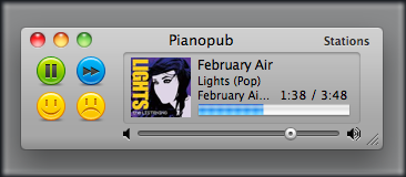 Free Pandora Player for Mac